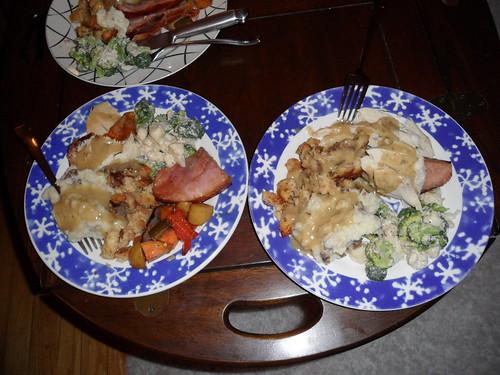 t-giving dinner 2010