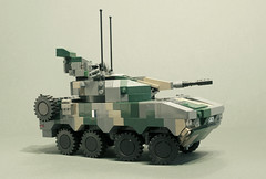 XA-386 Vanguard (Aleksander Stein) Tags: lego military air modular vehicle defence patria armoured ndc amv tulwar spaag mcvs xa380 xa386
