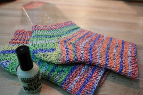 Knitting Pattern For Pedicure Socks : Free Knit Pattern For Pedicure Socks