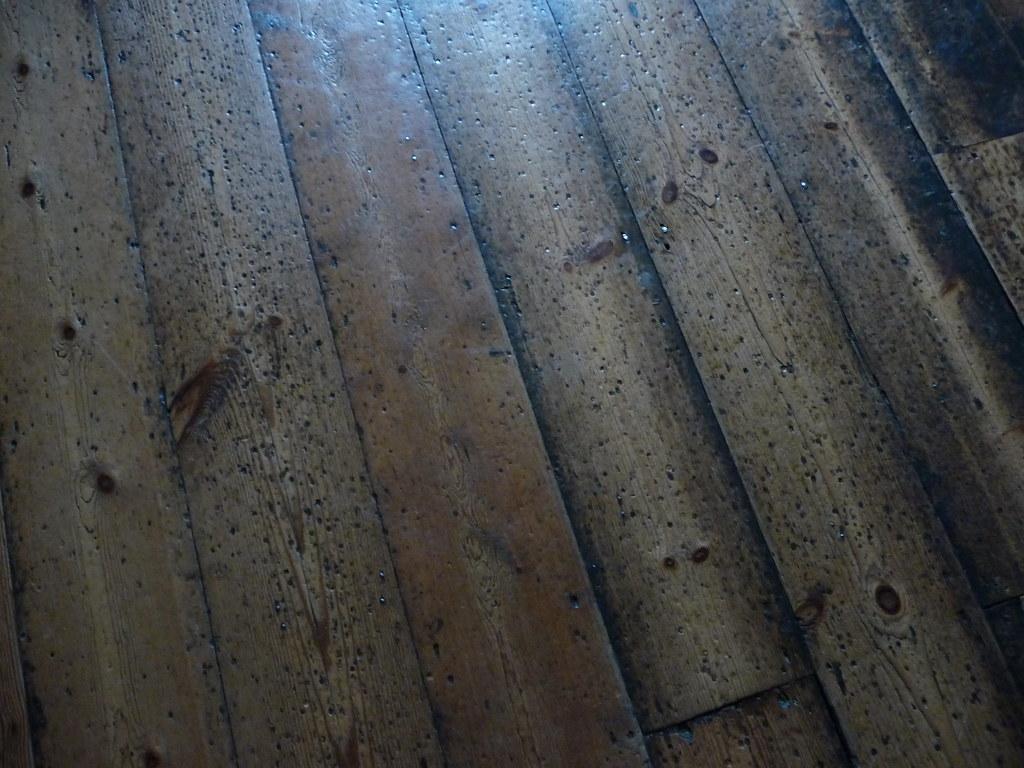 Wooden floorboards 215