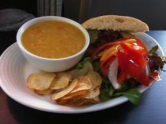 Soup and Sandwich at Mimi's Bakehouse, Edinburgh