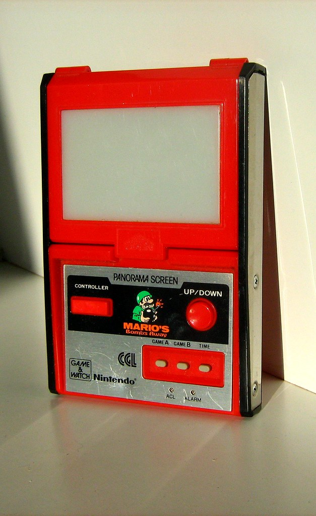 Nintendo Handheld Electronic Game - Game and Watch 'Mario's Bombs Away': Model No. PB-94