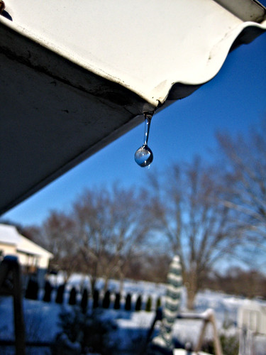 Water drops from my roof