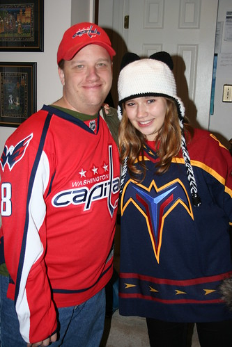 12/4/10: Off to the Caps/Thrashers game