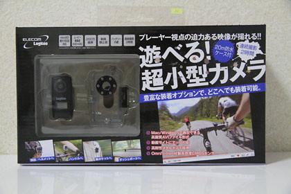 Logitec スポーツSDカメラ パッケージ