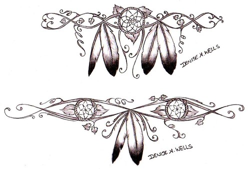 Girly Dreamcatcher Tattoos by Denise A. Wells