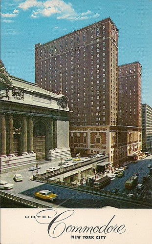 (Undated) Hotel Commodore, NYC Postcard (Front)