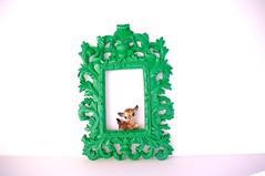 eden (amye123) Tags: green wall colorful handmade frame romantic ornate baroque decor eclectic homedecor pictureframe boheman