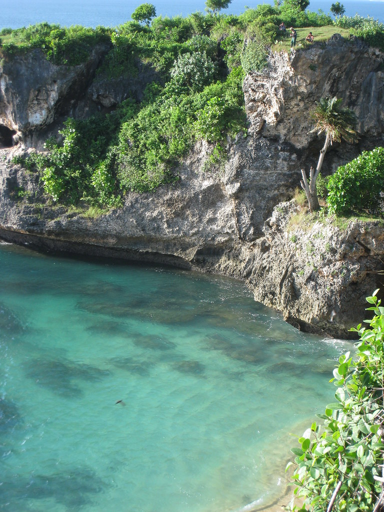 Cliffs and waters, Balangan beach, Bukit, Bali, Indonesia