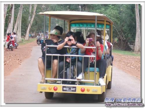 吳哥城-環保電瓶車