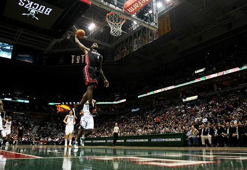 lebron james miami heat dunk. Lebron James (December 6,