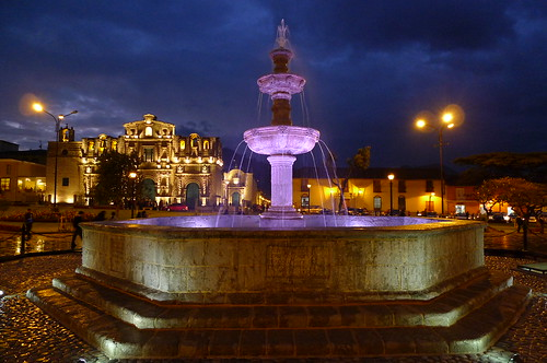 Fountain - Cajamarca, Peru