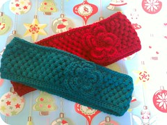 Earwarmers (coffee n crochet) Tags: crochet earwarmers puffstich