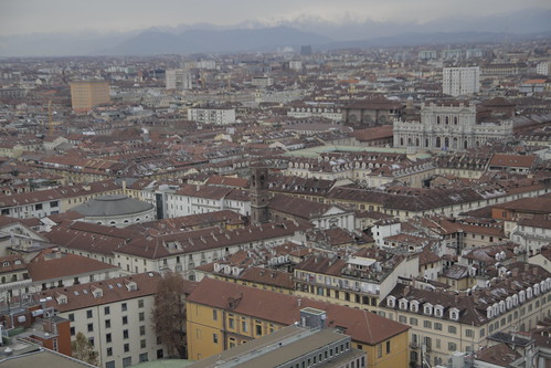 View of Torino from observation deck