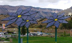 Parachute solar flowers 2