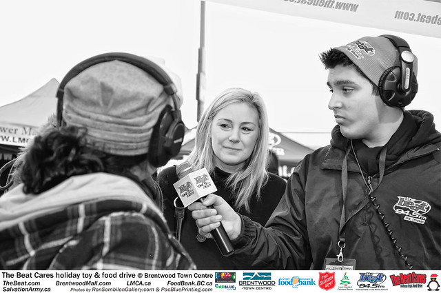 The BEAT CARES holiday food and toy drive at Brentwood Town Centre photos by Ron Sombilon Gallery (71) by Ron Sombilon Gallery