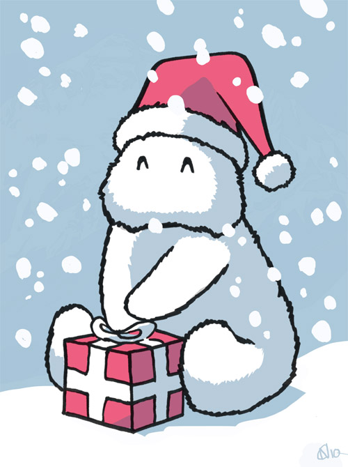 14 - Baby Yeti Santa