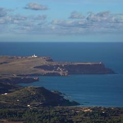 Cap de Cavalleria is the northernmost point on Menorca (B℮n) Tags: lighthouse themostnortherlypointofmenorca capdecavalleria dramatic remote uninhabited milesaway desolate rocky playasdelnorte tramontana cominodetramontana ruggedrockycove high cliffsplungingintothesea spain tramontanawind northernwind viewpoint seagulls balearics island unspoiltislandofthebalearics balearicislands rockycoastline naturalenvironments unesco biospherereserve mediterraneanlandscape nestingontherocks themediterraneansea waveshittherockycoast wavesupto50mhigh seasky 90mhighcliffs strongwind vuurtoren montetoro eltoro altor esmercadal menorcaisland highestmountainofmenorca 357metreshigh viewsofalmostalltheisland 17thcenturyrenaissancechurch viewsfromthetoparemagnificent clearday importantplaceofpilgrimage minorca menorca virginalnorthcoast reservadelabiosfera fornells harbouroffornells badiadefornells mediterraneansea balearsea jewelofthebalearics balearicisland islandofmenorca oneofthebalearicislands 50faves topf50 geomenorca