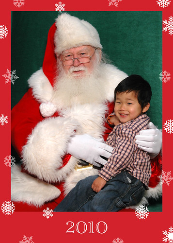 Just another visit with Santa...