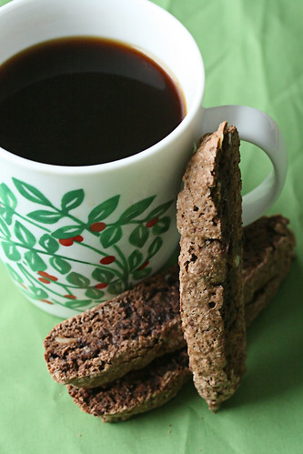 Chocolate Brownie Biscotti