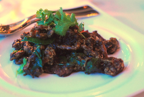 Deep Fried Soft Shell Crab Thai 'kam heong' Style
