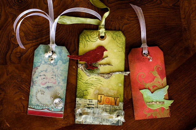 Holiday Wine Bottle Gift Tags