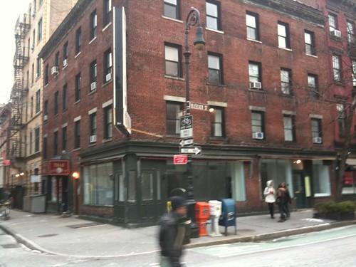 Empty Storefront, NYC
