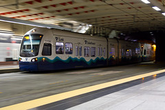 Now Entering University Street Station (Atomic Taco) Tags: pan soundtransit universitystreetstation linklightrail dstt downtownseattletransittunnel