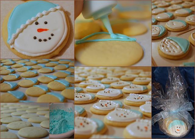 2010-12-07 Snowman cookies