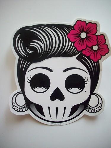 day of dead skull girl. Day of the Dead Skull Girl