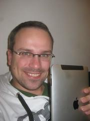 Henning mit iPad