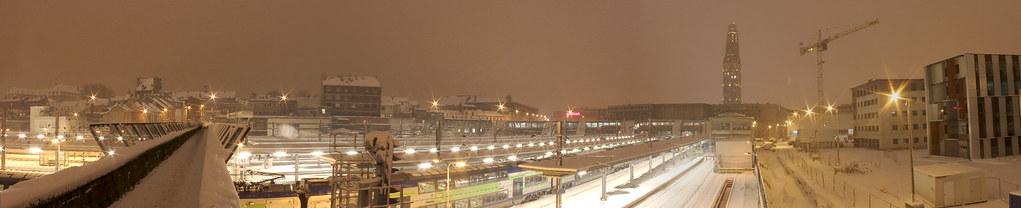 Gare d'Amiens, 19 décembre 2010