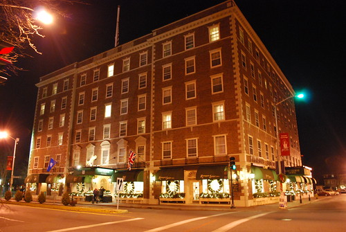 The Hawthorne Hotel at Night