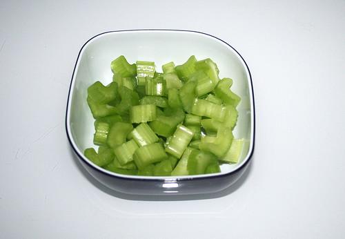10 - Sellerie geschnitten