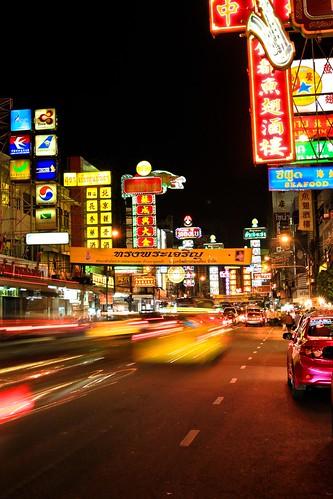 Friday night in Bangkok's Chinatown