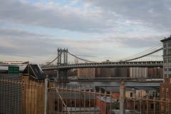 Manhattan Bridge (scriptingnews) Tags: nyc cold brooklynbridge manhattanbridge