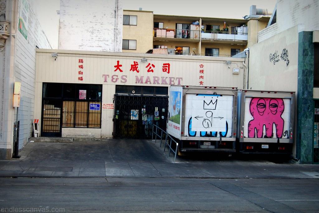 Creeptopus Graffiti.