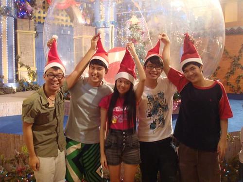 Wen Jie,Chern Jung,Chee Li Kee,Calvin and Chin Ming