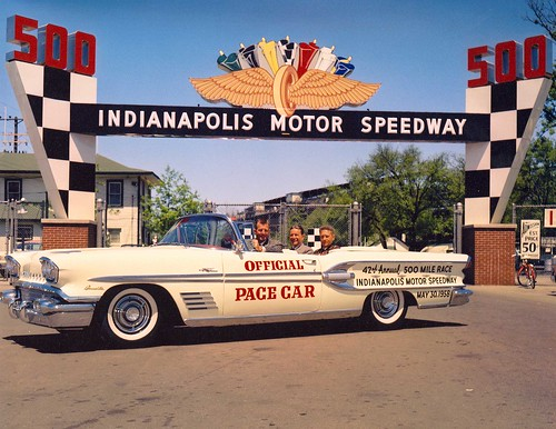The 1958 Indy 500 Pace Car