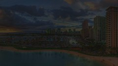 Sunset Candy (Floyd's Noise) Tags: sunset panorama hawaii timelapse waikiki oahu hilton lagoon rainbowtower