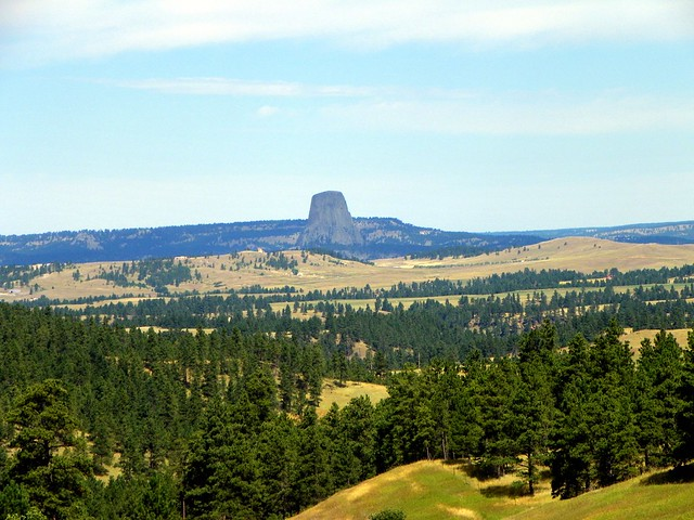 Rapid City, South Dakota to Devils Tower, Wyoming