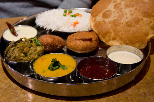 Gujarati thali, Tiffin Wallah