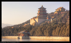 Summer Palace in Winter (mattyeo) Tags: china sunset summer holiday reflection ice frozen december beijing palace yiheyuan 2010 1585
