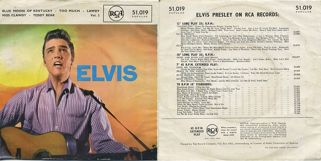Blog de elpresse : ELVIS ET LE ROCKABILLY, cover elvis