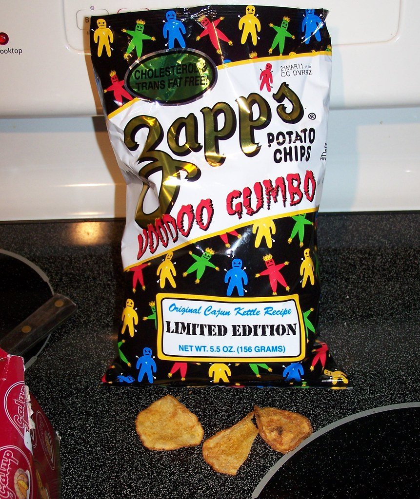 Zapp's Voodoo Gumbo potato chips