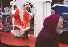 Girls on the catwalk (varjagg) Tags: leica old girls lady 35mm arch cosina voigtlander headscarf leg harvest kitsch 64 september celebration suit fox kodachrome kr belarus retired 2008 asph m4 7200 f17 authoritarian ultron lukashenko plustek opticfilm orsha dazhynki