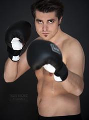 im ring (Paul Stajan) Tags: studio nikon boxer lowkey jrg d700 imring