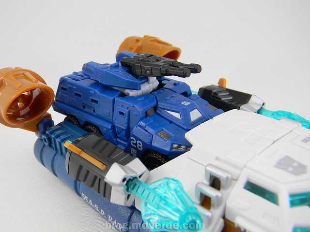 Transformers Breacher HftD Scout - modo alterno vs Seaspray