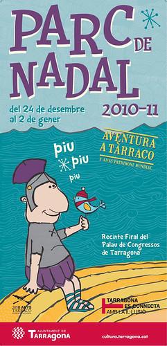Navidad 2010 en Tarragona con niños: Parc de Nadal