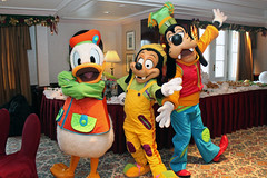Donald Duck, Max Goof and Goofy